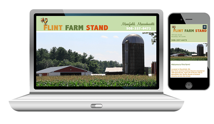 website design for farm business